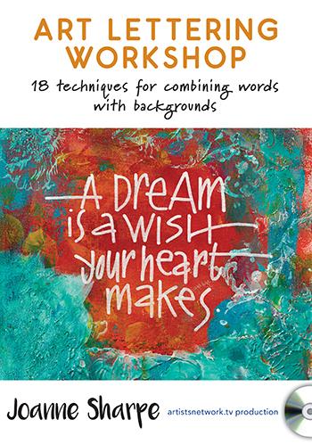 Art Lettering Workshop with Joanne Sharpe from ArtistsNetworkTV