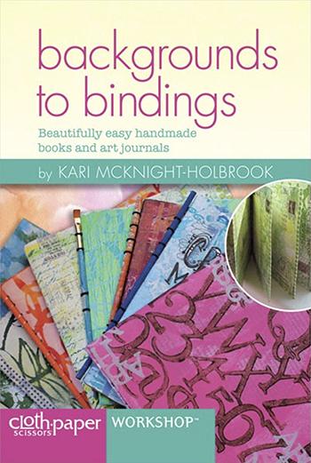Backgrounds to Bindings video with Kari McKnight Holbroo