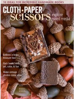 Cloth Paper Scissors, September/October 2016   ClothPaperScissors.com
