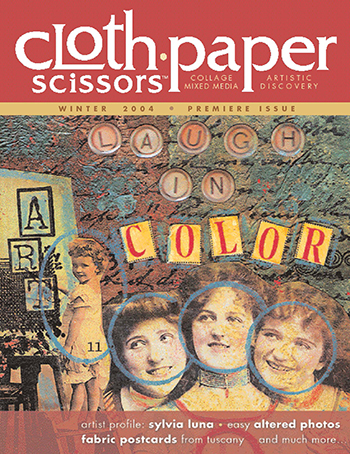 Cloth Paper Scissors first issue