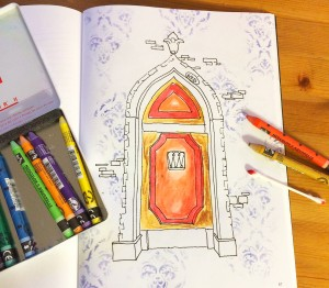 Coloring book tutorial