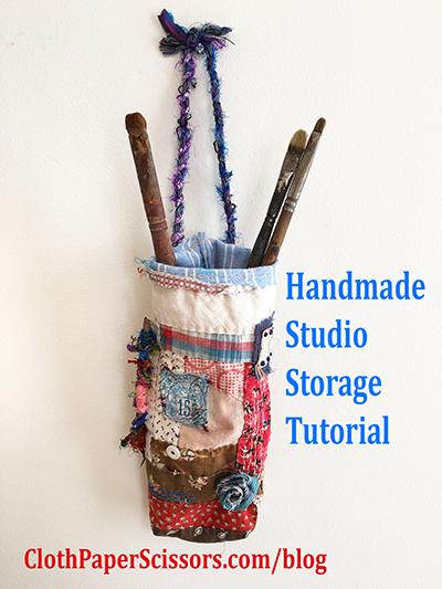 Handmade studio storage tutorial
