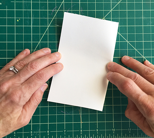 Folding paper technique