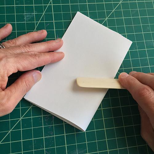Folding with a bone folder