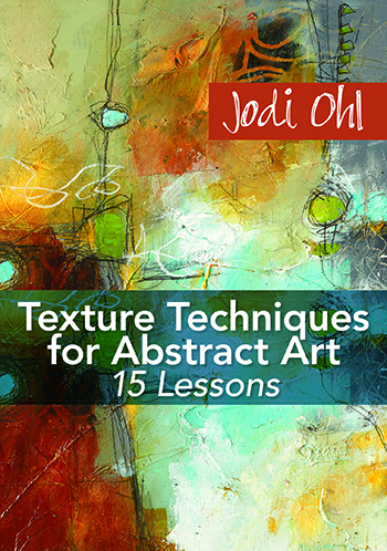 Texture Techniques for Abstract Art video with Jodi Ohl