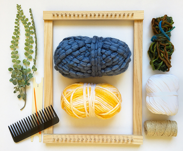 Materials for small loom weaving