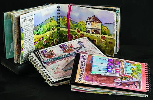 Jacqueline Newbold art journals