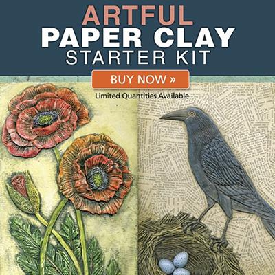 Artful paper clay starter kit