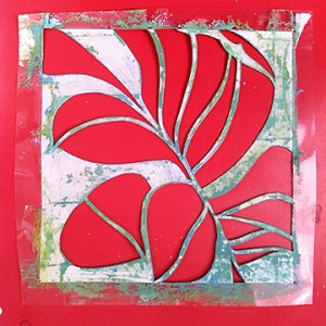 Hand-cut stencil by Franca Westaway