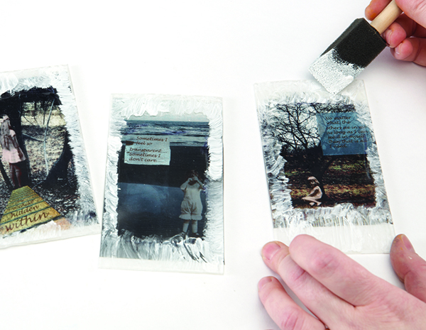 Handmade book project from The Elemental Journal by Tammy Kushnir