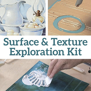 Surface and Texture Exploration Kit from North Light Shop