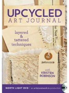 Upcycled Art Journal DVD with Kristen Robinson