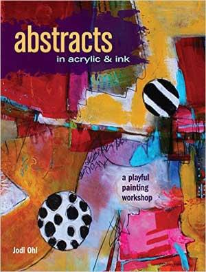 Abstract art ideas   Jodi Ohl, ClothPaperScissors.com