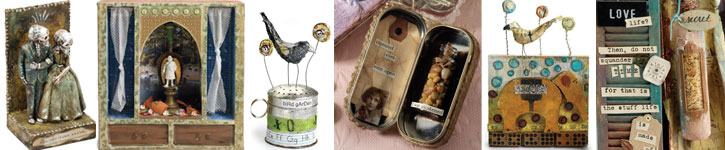 Discover all five methods for art assemblage creation and designing found object art.