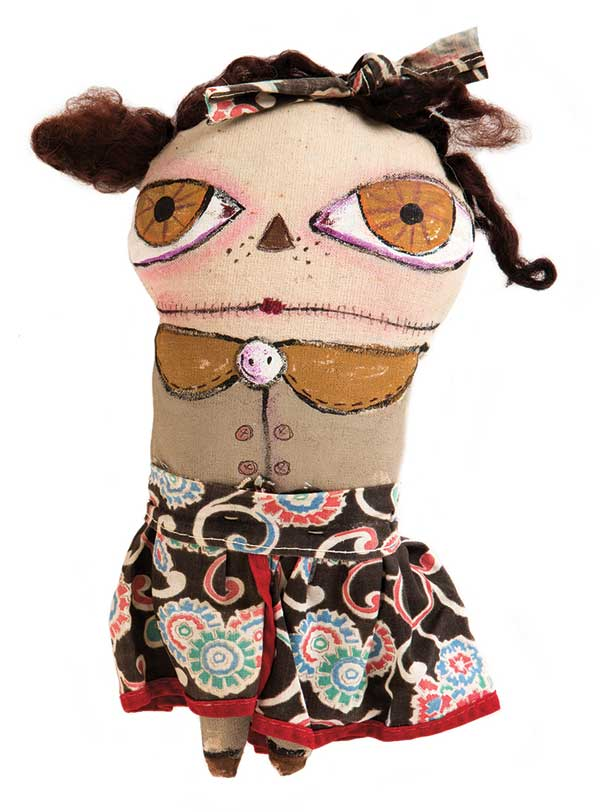 Art dolls & stuffies | ClothPaperScissors.com
