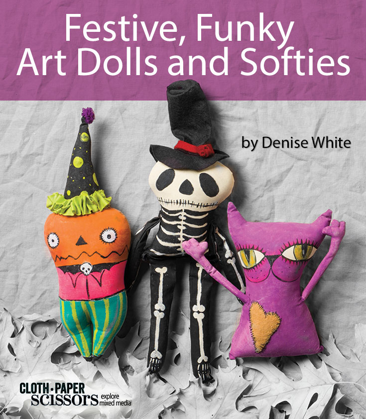 Art dolls & softies | ClothPaperScissors.com