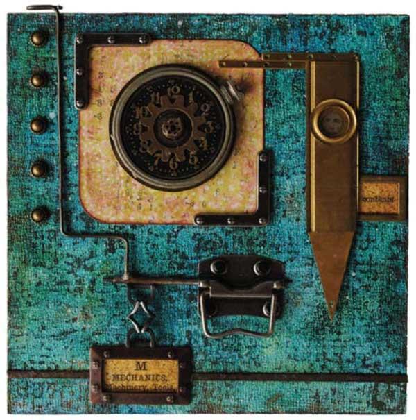 Art goals and mixed-media inspiration | Art by Seth Apter, ClothPaperScissors.com