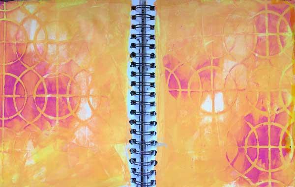 Art journal ideas | Mary Beth Shaw, ClothPaperScissors.com