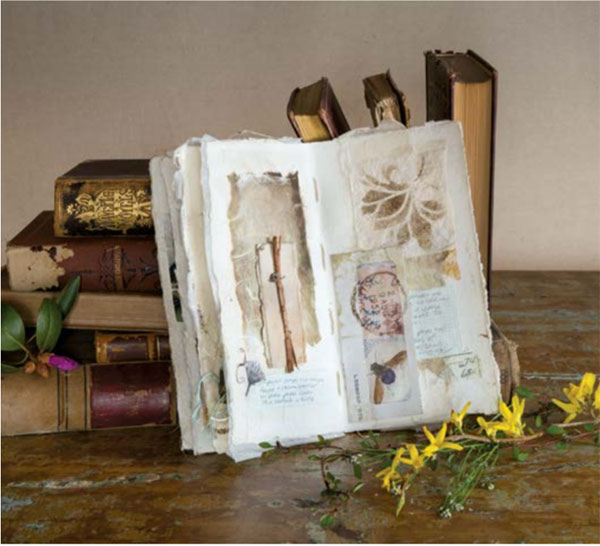 Art journal   Roxanne Evans Stout, Cloth Paper Scissors