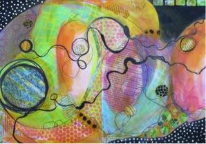 Art Journaling Live | Mary Beth Shaw, ClothPaperScissors.com
