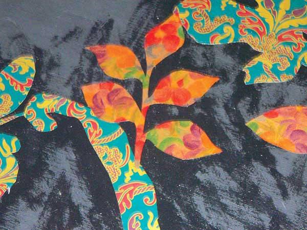 Art studio ideas | Bebe Barefoot-Lloyd, ClothPaperScissors.com