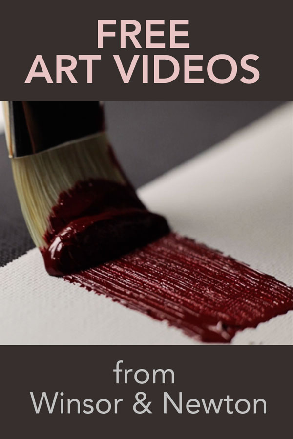 Masterclass art videos from Winsor & Newton
