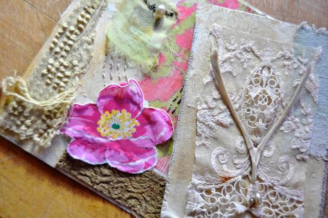 Collage ideas with Roxanne Evans Stout | ClothPaperScissors.com