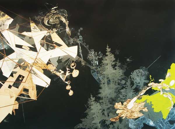 Collage art by Tomas Vu | ClothPaperScissors.com