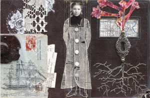 Collage designs | Sharmon Davidson, ClothPaperScissors.com
