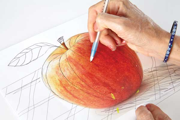 Collage techniques | Elizabeth St Hilaire, ClothPaperScissors.com