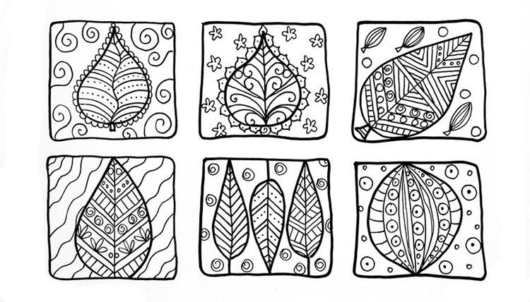 Doodle art ideas | Deborah Mullen, ClothPaperScissors.com