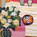 Expressive painting | Annie O'Brien Gonzales, ClothPaperScissors.com