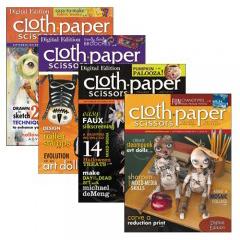 Cloth Paper Scissors Fall bundle   ClothPaperScissors.com