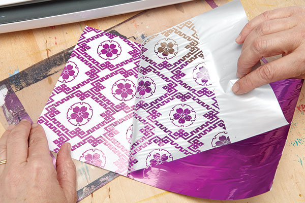 How to Use Transfer Foil | Christine Adolph, ClothPaperScissors.com