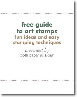 Get your free guide to stamping and carving art stamps.