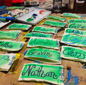 Hand lettering | Cherie Dawn Haas, ClothPaperScissors.com