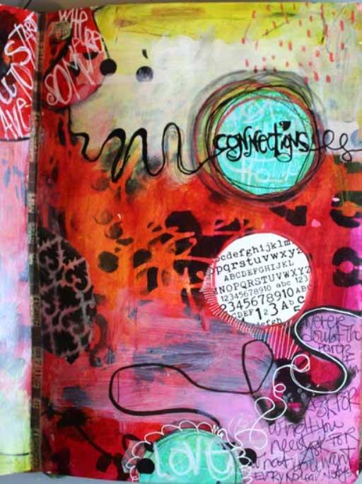 Hand lettering techniques | Jodi Ohl, ClothPaperScissors.com