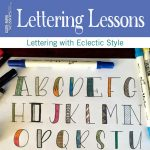 Hand lettering tips | ClothPaperScissors.com