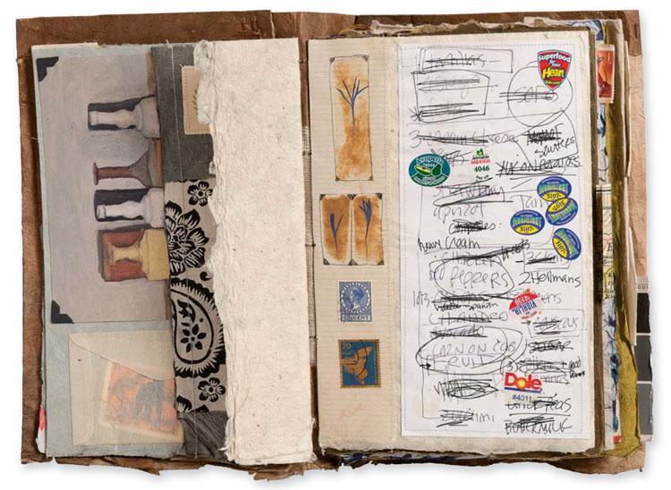 Handmade books by Marcia Derse   ClothPaperScissors.com