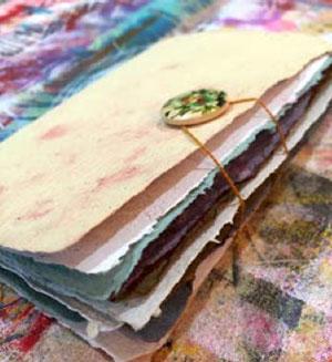 How to make handmade paper   Lynn Krawczyk, ClothPaperScissors.com