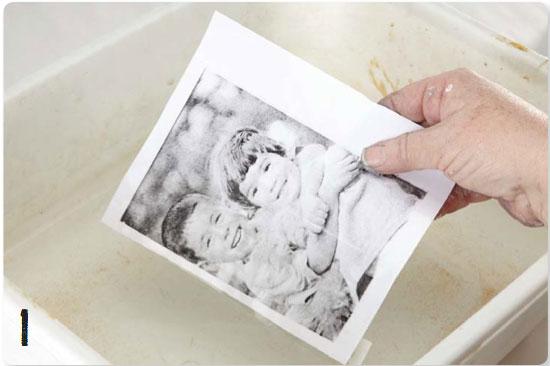 How to make an image transfer | Sue Pelletier, ClothPaperScissors.com