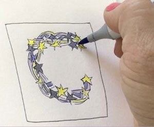 Lettering tips with Pam Garrison | ClothPaperScissors.com