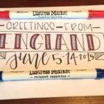 Lettering labels | Taylor Huizenga, ClothPaperScissors.com
