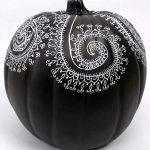 Mandala art for pumpkin designs | Kathryn Costa, ClothPaperScissors.com