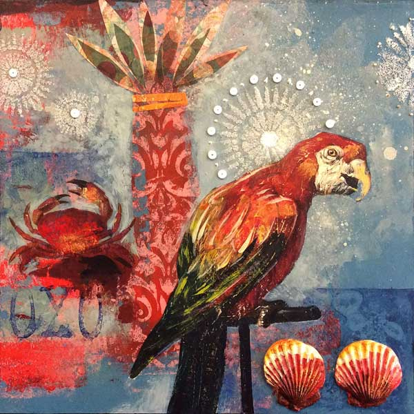 Mixed-media art ideas | Darlene Olivia McElroy