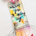 Mixed-media art ideas | Rae Missigman, ClothPaperScissors.com
