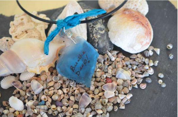 Mixed-media jewelry   Jen Cushman, ClothPaperScissors.com