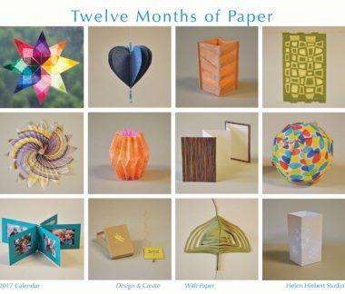 Paper art ideas | Helen Hiebert, ClothPaperScissors.com
