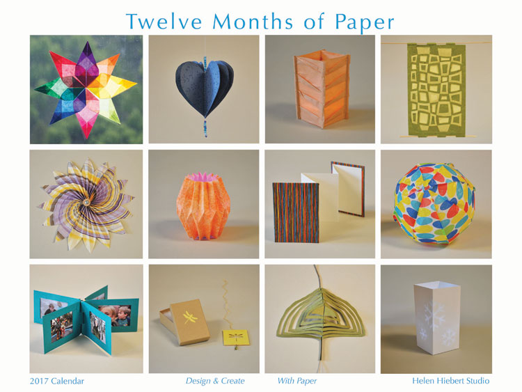 Paper art ideas | Helen Hiebert, ClothPaperScissors.com