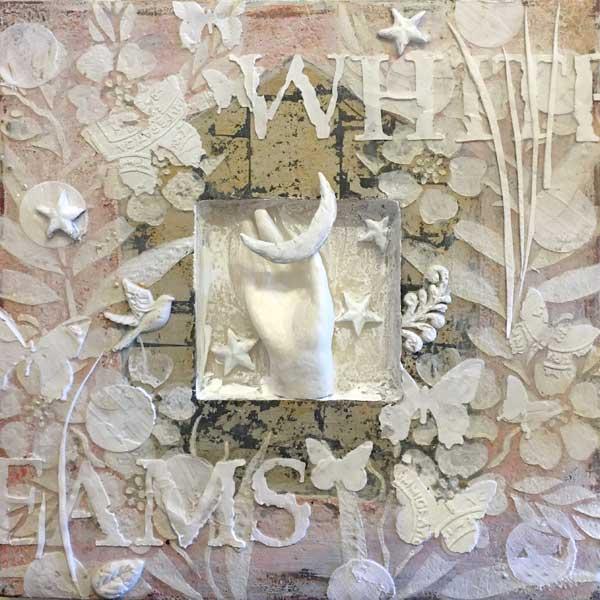 Paper clay and fiber art ideas | Darlene Olivia McElroy